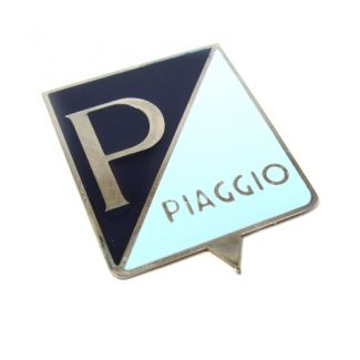 Piaggio Badge For 1960s Vespa Small Frame