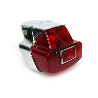 SIEM REPRODUCTION METAL TAILLIGHT FOR GL/SS (HAS NOTCH) **MADE IN ITALY**