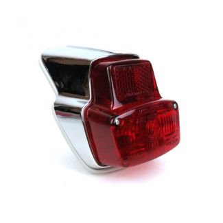 Tail Light Chrome Small Frame