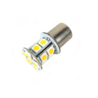 12V Amber LED Bulbs With Offset Pins