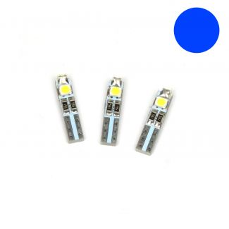 2ND GENERATION SET OF **BLUE** LED BULBS FOR SPEEDOMETER ON VESPA S AND LX