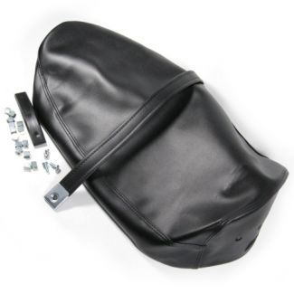 SEAT COVER P125X P200E (W/METAL CLIPS AND BADGE (EMBLEM) HOLDER)