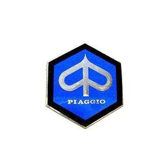 Piaggio large hex badge