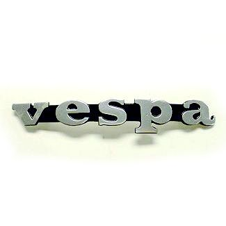 Vespa Metal Legshield Badge 1970