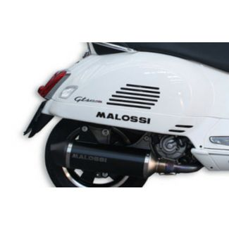 *BLACK** MALOSSI EXHAUST SYSTEM GT/GTS 200/250/300