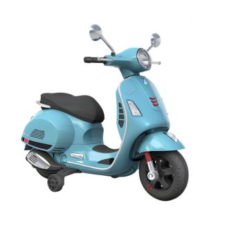 Vespa Ride On GTS 300 Kid's Scooter in Blue (Officially Licensed by Piaggio)  Special Order Only