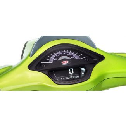 SIP Rev Counter/Speedometer  with Black Face for Vespa Sprint Primavera