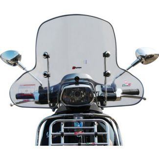 **CLEAR** WIDER MIDSIZED WINDSHIELD; SPRINT-FACO (INCLUDES HARDWARE)