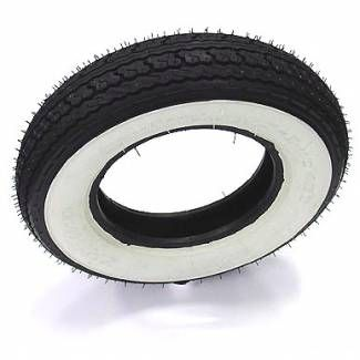 Shinko 350x10 White Wall SR550 Tire