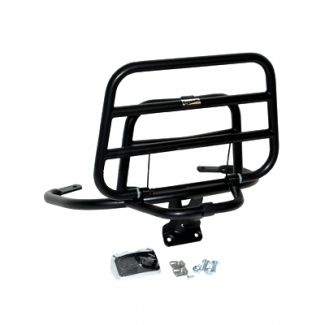 **MATTE BLACK** REAR RACK for VESPA S AND LX ORIGINAL PIAGGIO 675659