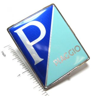 Piaggio Badge Shield (Clip in Type) FITS MOST MODERN VESPA AND PXE