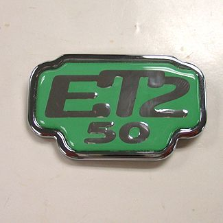 ET2 Badge For Glove Box Door