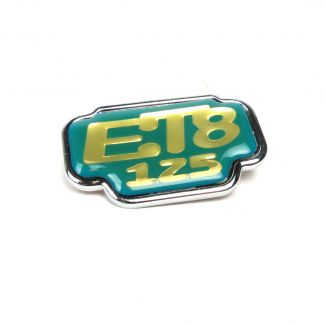 ET8 BADGE (EMBLEM) FOR GLOVEBOX DOOR (TAIWAN MARKET)