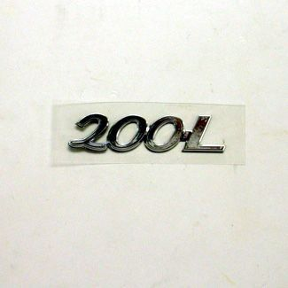 200L Chrome Badge
