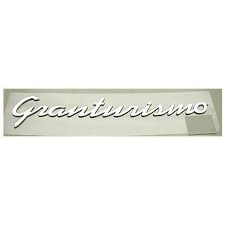 Granturismo Chrome Badge