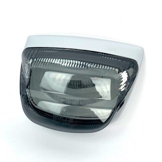 **TINTED**  BMW-STYLE LED Tail Light Assembly - Vespa LX/LXV/S