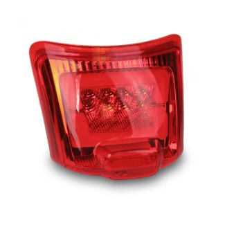 Zelioni Red LED Rear Tail Light Assembly Vespa GTS/GTV (2006-2014)