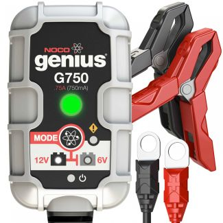 Noco Genius Battery Charger G750- All 6V & 12V Scooters