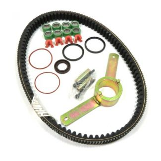Deluxe Belt, Variator, Clutch Overhaul Kit MP3 400