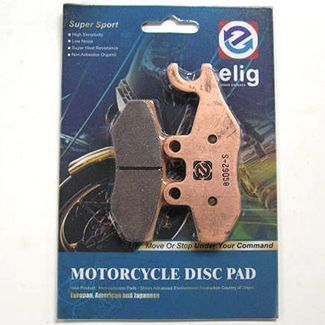 Elig Sintered Performance Brake Pads -  GT/GTS/GTV SPRINT FLY PRIMAVERA Front and MP3 500 BV250 BV200 Rear (497116 647078 651253 668021)