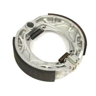**BRENTA MADE IN ITALY** REAR BRAKE SHOES FITS ALL SMALL DRUM ET4/LX150/TYPHOON 125  (2736235 56292R 82907R 56294R)