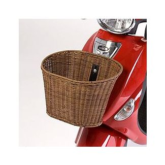 Buddy Front Wicker Basket