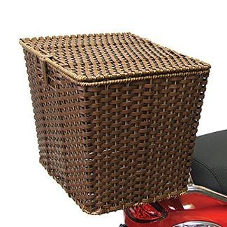 Wicker Basket Exterior