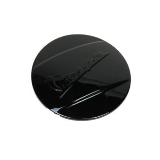 Glossy Black Vespa Clutch Nut Cover