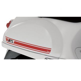 VESPA S DECAL SET RED