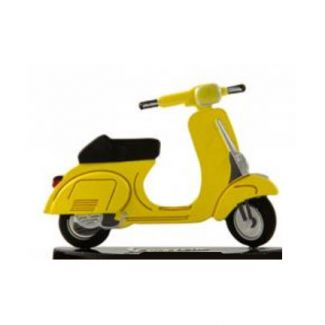 DIE-CAST MODEL VESPA VINTAGE 50 SPECIAL IN YELLOW