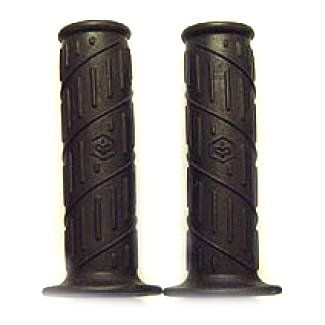 Grips DARK BROWN PAIR Vespa ET Vespa LX Sprint Primavera **Closeout**