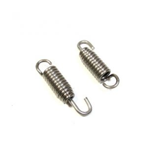 Stainless Steel Swivel Exhaust Springs (pair) 38mm