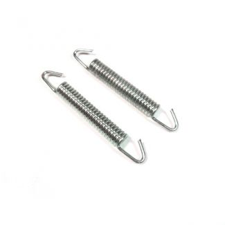 Zinc Plated Exhaust Spring (pair) 57mm - 90mm