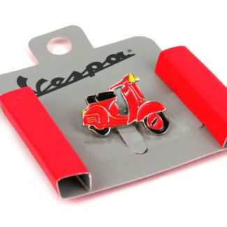 Vespa Collectable Pin **RED**