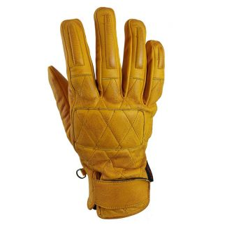 "Torc Gloves ""Silver Lake"" Gold Leather"