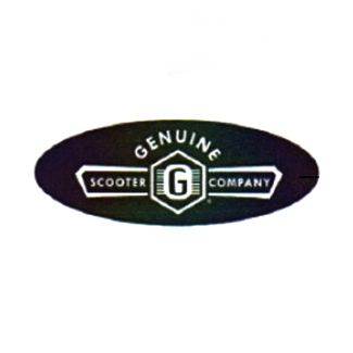 GENUINE SCOOTER CO. EMBLEM DECAL (FRONT LEGSHIELD EMBELLISHMENT)