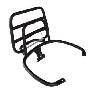 **BLACK** FA REAR FOLDING RACK W/ GRAB RAIL (623977)