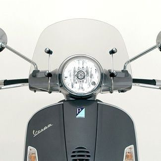 GT200, GTS 250, and GTS 300 Piaggio Mod Style Windshield