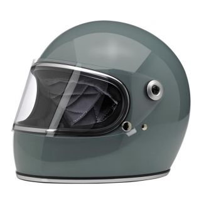 Biltwell Gringo S Full Face Helmet Gray