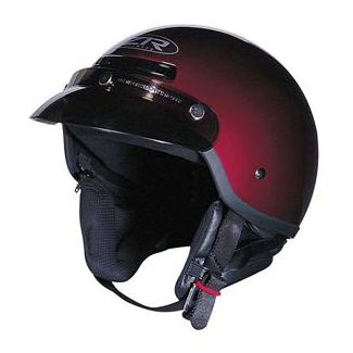 Z1R Half Shell Helmet Wine Berry RED all Sizes