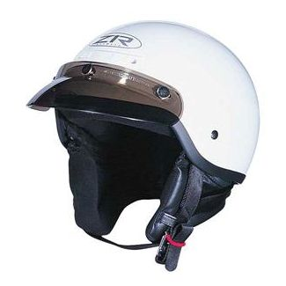 Z1R Half Shell Helmet Glossy WHITE all Sizes