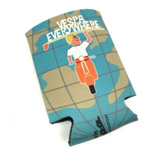 VESPA MOTORSPORT/SCOOTERWEST CUP COOZIE KEEP YOUR BEVERAGE CHILLED TO PERFECTION