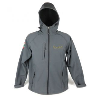 Vespa Motorsport Hooded Soft-shell Casual Riding Jacket