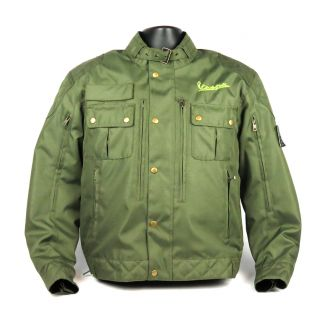 Embroidered Steve McQueen Replica Riding Jacket Army Green (BACK IN STOCK)