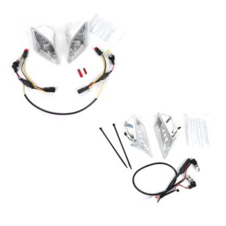Vespa Euro LED Front and Rear Turn Signal/Running Light Kit GT/GTS/GTV