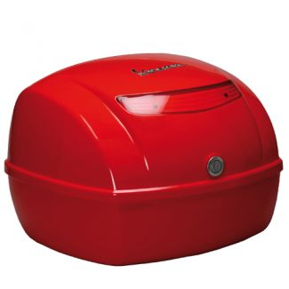LX and Vespa S Original Vespa Top Case - Dragon Red
