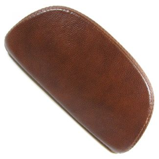 LXV Top Case Back Rest Pad - Brown Leather