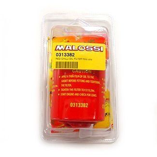 Malossi Red Chilli Oil Filter Piaggio Vespa 150-300cc