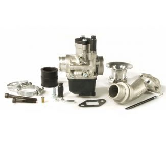 Small Frame Malossi Rotary Valve Kit w/ 25mm Carb