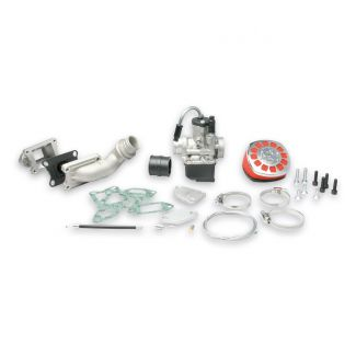*NEW STYLE TO FIT M3116326 NEW 135cc CYL KITS* CYLINDER INDUCTED REED VALVE AND 25mm PHBL CARB KIT